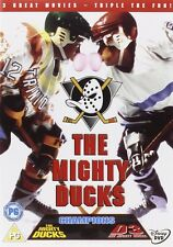 The Mighty Ducks Complete Movies Trilogy Film Collection 3 Discs  New and Sealed