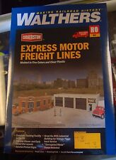 HO Walthers Cornerstone kit 933-4049 * Express Motor Freight Lines
