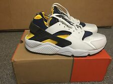VERY RARE Deadstock Nike Air Huarache Michigan 2003 03 Mens 12 - DS LE OG Box