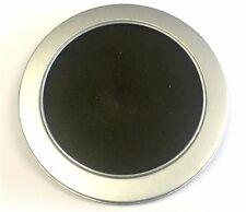 1 Aluminium CD/DVD Round Case With Plastic Transparent Window 125mm x 10mm