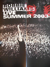 ▓ POSTER PROMO ▓ ROBBIE WILLIAMS : LIVE SUMMER 2003