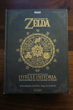 THE LEGEND OF ZELDA  -  HYRULE HISTORIA  - ENCYCLOPDIE DE ZELDA  -- LIVRE