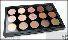NUOVO * MAC Eyeshadow x15: calda neutra tavolozza 100% AUTENTICO
