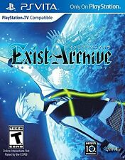 Exist Archive: The Other Side Of The Sky [PlayStation Vita Sony PSV] Brand NEW
