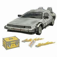 DIAMOND SELECT BACK TO THE FUTURE ICED TIME MACHINE COLLECTOR SET 1/18