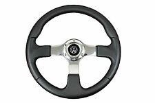 CHROME F2 SPORTS STEERING WHEEL fit Momo OMP boss kit VOLKSWAGEN T2 T4 T25 GTi