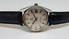 USED VINTAGE 60'S OMEGA SEAMASTER SILVER DIAL DATE CAL 565 AUTO MAN'S WATCH