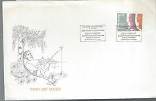 1987 Finland FDC fishing?  Scott No. 754
