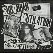 Opera Ain't Over Till The Fat Lady Sings - Suburban Mutilation (2014, CD NIEUW)