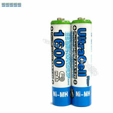 20 x AAA 1600mAh NIMH 1.2V Volt Rechargeable Battery HR03 LR03 3A Ultracell Blue