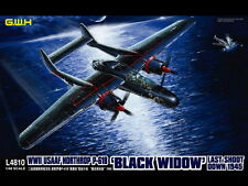 "Chasseur de nuit NORTHROP P-61B ""BLACK WIDOW""- KIT GREAT WALL HOBBY 1/48 n° 4810"