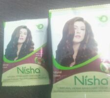 12 X Indian Henna Hina Based Brown Hair Color Dye with Herbal Protection ~No Ppd