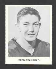 Fred Stanfield Chicago Blackhawks 1965 Coca Cola Hockey Card Look!