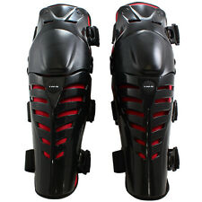 Adult Knee Shin Guards Protector Brace ATV Motocross MX Dirt Bike Off-Road Race