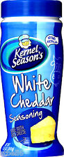 WHITE CHEDDAR Kernel Season's Popcorn Seasoning 2.85Oz Shaker All Natural