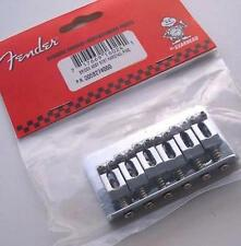 "NEW Bridge FENDER HARDTAIL  0058274000 -chrome toutes guitares ""à travers body"""