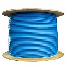 1000ft CAT6 STP (Shielded) Bulk Cable, Solid, 500MHz Blue Spool 10X8-561NH