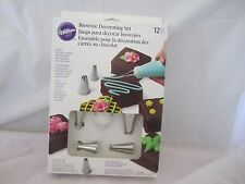 Wilton Industries Inc 12 Pc Brownie Decorating Tip Set