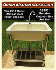 GSS501 Portable Outdoor Sink Garden Camp Camping RV Kitchen Remodel must-have!