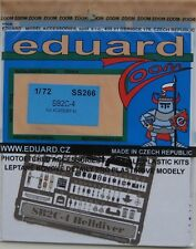 Eduard 1/72 SS266 Zoom Etch for the Academy Curtiss SB2C-4 Helldiver