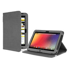 Google Nexus 10 Tablet Slate Grey Version Stand Natural Hemp Cover Case