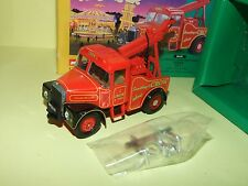 SCAMMELL HIGHWAYMAN CRANE SET John Crow & Sons SHOWMANS CORGI 16101 1:43