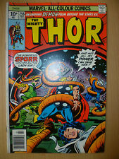 THE MIGHTY THOR Marvel Comics, FEBRUARY, 1977 Issue, Vol.1, No.256
