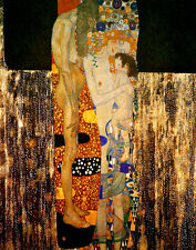 Gustav KlimtThree Ages Of Woman Print 11 x 14   #4814