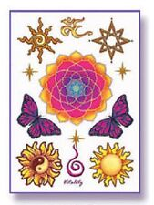 VITALITY Temporary Tattoos Set Wiccan Pagan T12