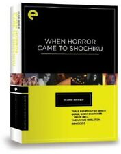 When Horror Came to Shochiku [Criterion Collection] [4  (2012, REGION 1 DVD New)