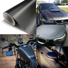 "60"" X 12"" 3D Carbon Fiber Vinyl Wrap PROFESSIONAL BUBBLE FREE AIR RELEASE"