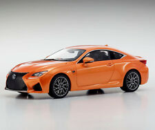 Lexus RC F Orange 1:18 Kyosho KSR18006OR