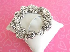 Brighton Bracelet Cher Jazz Twist chain Slip on Hook ends NWOT