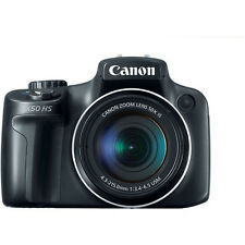 NEW Canon PowerShot SX50 HS 12MP Digital Camera with 2.8-Inch LCD (Black)
