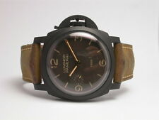 PANERAI LUMINOR 1950 COMPOSITE HAND WOUND MENS WATCH PAM00375 LIMITED SERIES