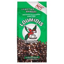 Greek Coffee Loumidis Papagalos Traditional Fine Ground from Quality Beans 96g