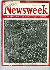 NEWSWEEK WAR  nazis china japan January 15 1945