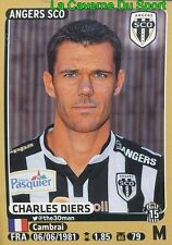 038 CHARLES DIERS # SCO.ANGERS DIJON.FCO STICKER PANINI FOOT 2016