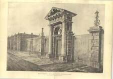1902 The Old Entrance To The Albany Picadilly, Sir William Chambers