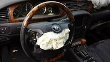 JAGUAR XJ8 VANDEN PLAS 2004-05-06-07-2008-2009 LEFT DRIVER STEERING WHEEL BLACK