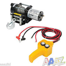 Silverline DIY 12V Electric Winch 4x4 trailer landrover suzuki off road