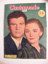 Cinémonde N°926 Mai 1952 Henri Vidal et Danièle Delorme La jeune folle