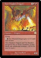 TWO-HEADED DRAGON Mercadian Masques MTG Red Creature — Dragon RARE