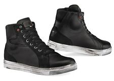 SCARPE SHOES STIVALI MOTO TCX STREET NERO ACE WP IMPERMEABILI WATERPROOF TG 44