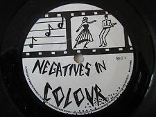 "NEGATIVES IN COLOUR Caught In Possession 7"" ORIGINAL UK 1982 DIY SYNTH DARKWAVE"