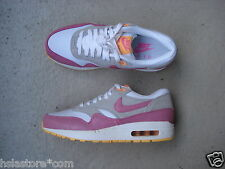 Wmns Nike Air Max 1 Essential 39 White/Pnk Glw-Wlf Gry-Atmc Mng