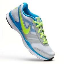 "NEW ""RARE"" Sz-5 Womens NIKE Total Core TR 2 Running Shoes-White/Blue/Volt/Silver"