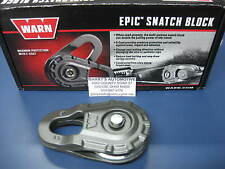 WARN 92097 Replacement 5000 Pound Epic Snatch Block Winch Forged Steel