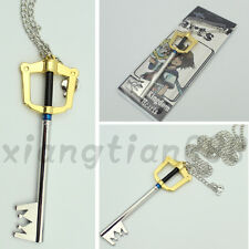 Cool Anime Kingdom Hearts Sora Key Necklace Pendant Cosplay Otaku Handmade Hot