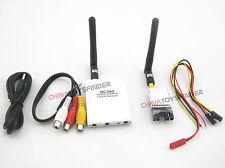 5.8G AV Audio Video Transmitter+Receiver Sender Combo FPV 2.0km Range for OSD